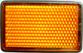 Reflector - Amber Rectangular
