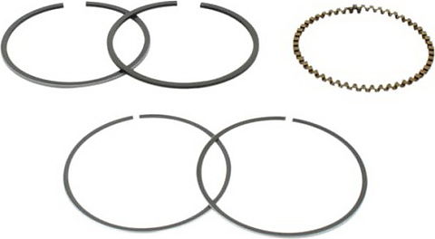 Honda CB750 Piston Ring Set - 1st Oversize (0.25mm.) - CB750K 69-76, CB750F 75-76