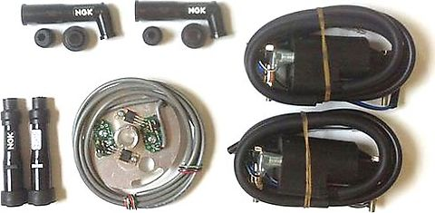 Standard Pamco Electronic Ignition Kit - CB750's, CB550's, & CB500's & Kawasaki