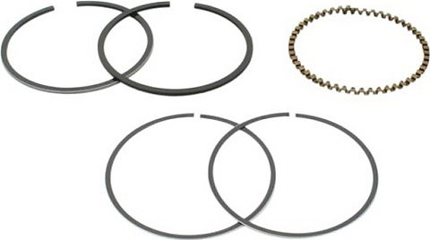 Honda CB750 2nd. O.S. Ring Set of 4 + 0.50mm - CB750K 69-76, CB750F 75-76 OEM Ref # 13031-300-024 FREE SHIPPING