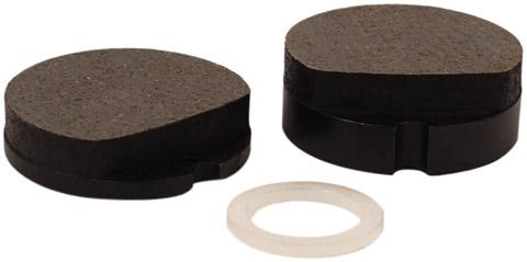 honda cb750 front brake pad set - cb750, cb550,cb500, oem ref