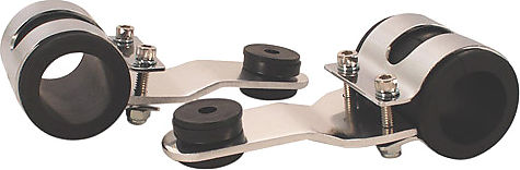 Tommaselli Type Headlight Bracket Set